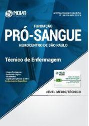 TECNICO DE ENFERMAGEM - FUNDAÇAO PRO-SANGUE HEMOCENTRO DE SAO PAULO (PRODUTO NOVO)