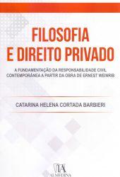 FILOSOFIA E DIREITO PRIVADO (PRODUTO USADO - MUITO BOM)