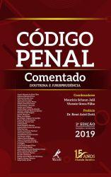 CODIGO PENAL COMENTADO DOUTRINA E JURISPRUDENCIA (PRODUTO NOVO)