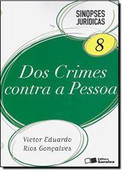SINOPSES JURIDICAS VOL 8 DOS CRIMES CONTRA A PESSOA (PRODUTO USADO - BOM)