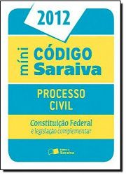MINI CODIGO SARAIVA - PROCESSO CIVIL (PRODUTO USADO - BOM)
