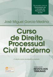 CURSO DE DIREITO PROCESSUAL CIVIL MODERNO (PRODUTO USADO - MUITO BOM)
