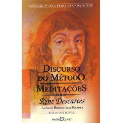 DISCURSO DO METODO REGRAS PARA A DIREÇAO DO ESPIRITO (PRODUTO USADO - BOM)