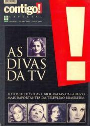 AS DIVAS DA TV - CONTIGO ESPECIAL (PRODUTO USADO - BOM)