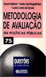METODOLOGIA DE AVALIAÇAO EM POLITICAS PUBLICAS (PRODUTO USADO - BOM)