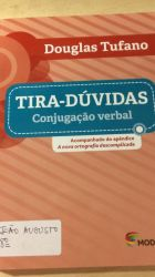 TIRA DUVIDAS CONJUGAÇAO VERBAL (PRODUTO USADO - MUITO BOM)