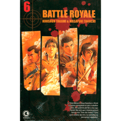 MANGA BATTLE ROYALE VOL 6 (PRODUTO USADO - BOM)