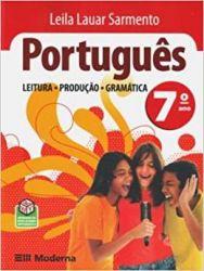 PORTUGUES LEITURA PRODUÇAO GRAMATICA 7 ANO (PRODUTO USADO - ACEITAVEL)