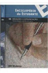 ENCICLOPEDIA DO ESTUDANTE VOL 08 REDAÇAO E COMUNICAÇAO (PRODUTO USADO - BOM)