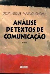 ANALISE DE TEXTOS DE COMUNICAÇAO (PRODUTO USADO - BOM)