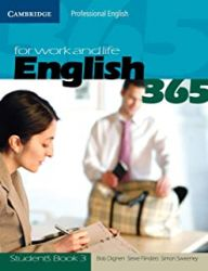 ENGLISH 365 FOR WORK AND LIFE STUDENTS BOOK VOL 3 (PRODUTO USADO - BOM)