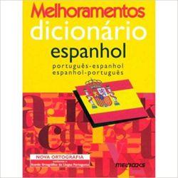 DICIONARIO ESPANHOL PORTUGUES MELHORAMENTOS (PRODUTO USADO - MUITO BOM)