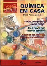 QUIMICA EM CASA PROJETO CIENCIA (PRODUTO USADO - BOM)