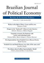BRAZILIAN JOURNAL OF POLITICAL ECONOMY - REVISTA DE ECONOMIA POLITICA (PRODUTO USADO - BOM)