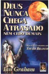 DEUS NUNCA CHEGA ATRASADO NEM CEDO DEMAIS - A GRAÇA E A SABEDORIA DO TOURO BRANCO (PRODUTO USADO - BOM)