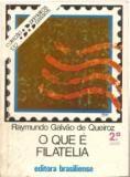 O QUE E FILATELIA - COLEÇAO PRIMEIROS PASSOS 132 (PRODUTO USADO - BOM)