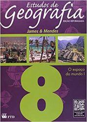 ESTUDOS DE GEOGRAFIA 8ºANO O ESPAÇO DO MUNDO 1 (PRODUTO USADO - BOM)
