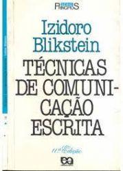 TECNICAS DE COMUNICAÇAO ESCRITA (PRODUTO USADO - BOM)