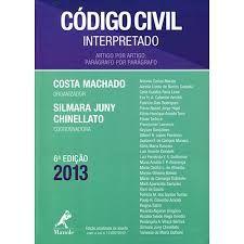 CODIGO CIVIL INTERPRETADO  ARTIGO POR ARTIGO (PRODUTO USADO - MUITO BOM)