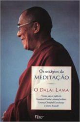 OS ESTAGIOS DA MEDITAÇAO O DALAI LAMA (PRODUTO USADO - MUITO BOM)