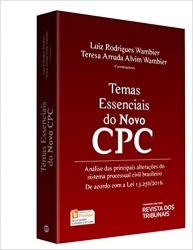 TEMAS ESSENCIAIS DO NOVO CPC (PRODUTO USADO - MUITO BOM)