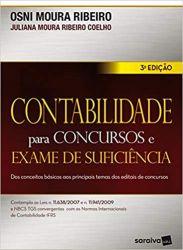 CONTABILIDADE PARA CONCURSOS E EXAME DE SUFICIENCIA (PRODUTO NOVO)