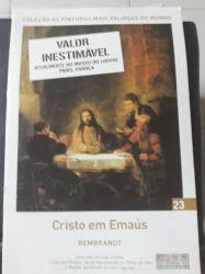 AS PINTURAS MAIS VALIOSAS  DO MUNDO CRISTO EM EMAUS VOL 23 (PRODUTO NOVO)