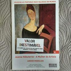 AS PINTURAS MAIS VALIOSAS DO MUNDO A MULHER DO ARTISTA (PRODUTO NOVO)