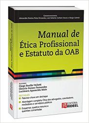 MANUAL DE ETICA PROFISSIONAL E ESTATUTO DA OAB (PRODUTO USADO - MUITO BOM)