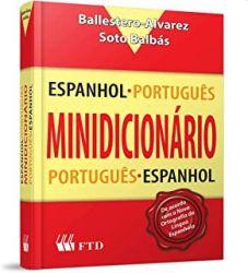 MINIDICIONARIO ESPANHOL PORTUGUES PORTUGUES ESPANHOL (PRODUTO USADO - BOM)