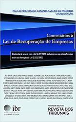 COMENTARIOS A LEI DE RECUPERAÇAO DE EMPRESAS (PRODUTO NOVO)