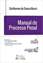 MANUAL DE PROCESSO PENAL VOLUME UNICO 2017 (PRODUTO USADO - BOM)
